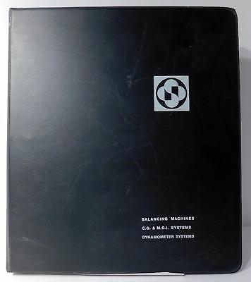 Schenck Trebble Corp Balancing Machines Cg Moi Systems Dynamometer Manual