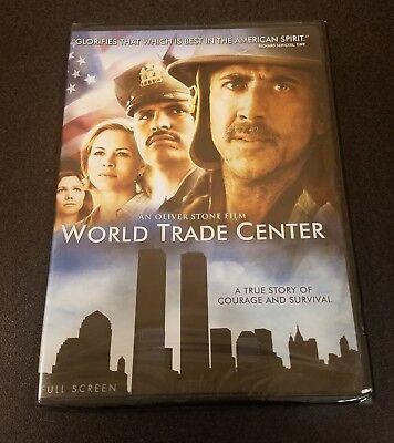 Trade Full Movie (World Trade Center (DVD, 2006, Full Screen) Nicholas Cage Oliver Stone film)