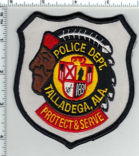 Talladega Police (Alabama) Shoulder Patch from the 1980
