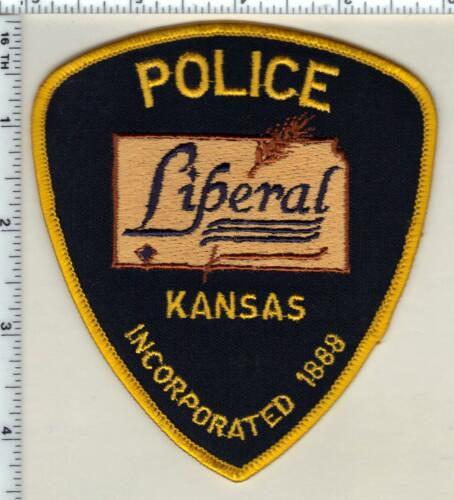 Liberal Police (Kansas) Shoulder Patch - new style from 1997
