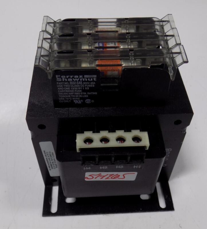 ALLEN BRADLEY 0.350KVA 120/110V TRANSFORMER 1497-F-BASX-3-N