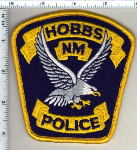 Hobbs Police (New Mexico) Shoulder Patch from 1997