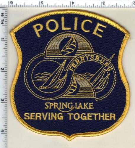 Spring Lake Police (Michigan)  Shoulder Patch  - new from 1992