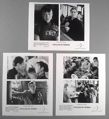 Photo Lot~ PAVILION OF WOMEN ~2001 ~Willem Dafoe ~Luo Yan ~Sau Sek ~Ho Yim