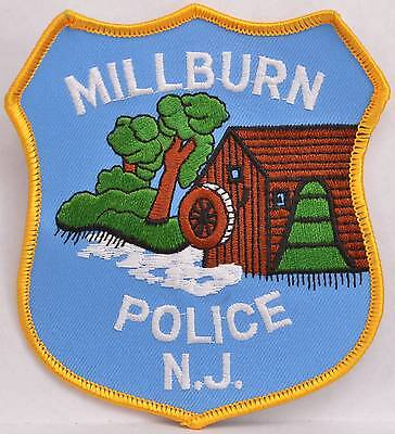 """4.5"""" Patch Millburn Essex County New Jersey Police Department Officer LEO"""
