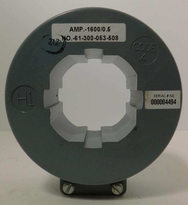 SIEMENS 61-300-053-508 AMP.-1600/0.5 Current Transformer