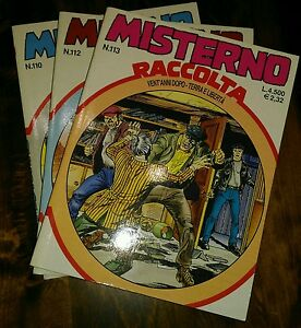 Mister-No-Raccolta-nn-110-112-113-Bonelli-Quasi-Edicola