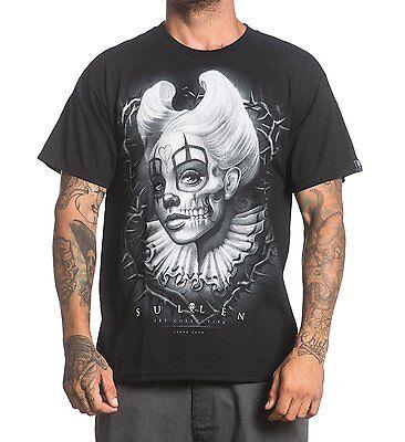 Sullen Steve Soto Skelett Dornen Clown Jester Tattoo S / ERWACHSENE T-Shirt ()
