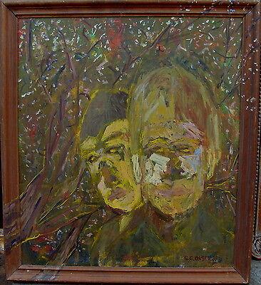E.G.Olsen, Zwei Kinder im Wald, um 1960