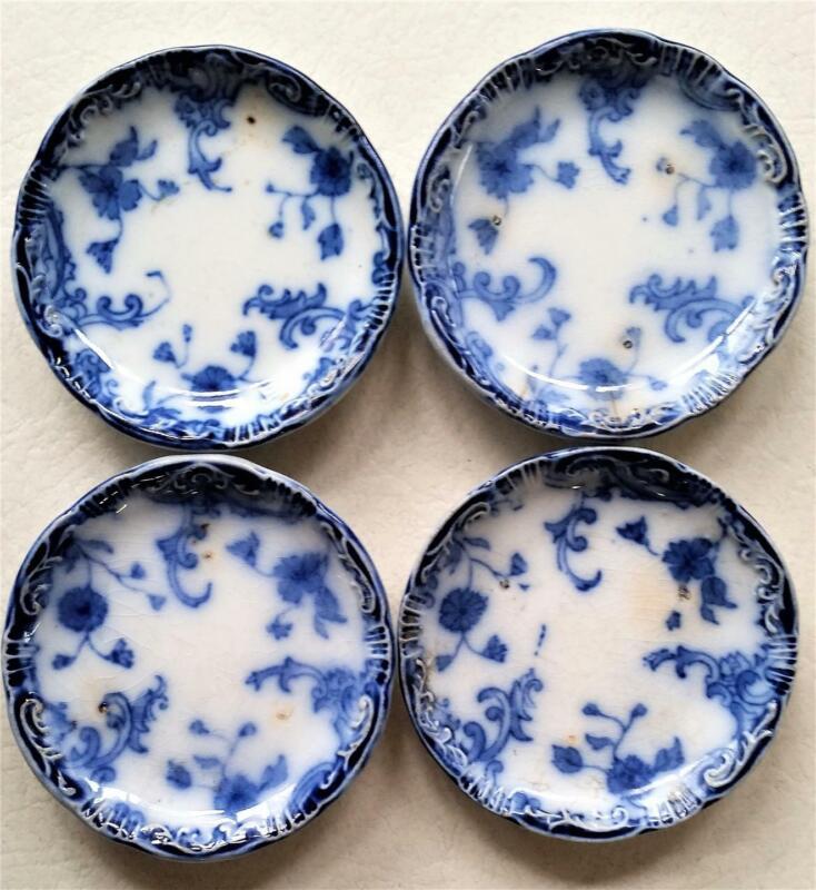 Antique W.H. Grindley England Flow Blue