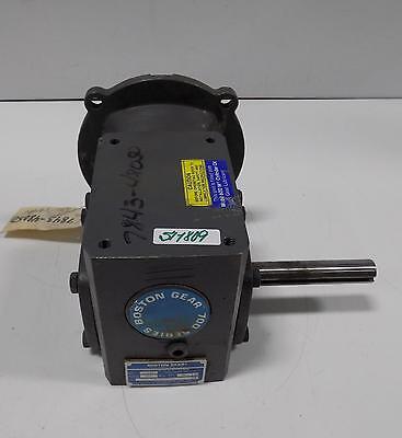 Boston Gear Speed Reducer Motor F715-10x-b5-g-t3