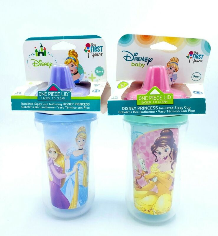 Disney The First Years Insulated Sippy Cup Disney Princess Characters 9 oz. 9m+