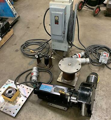 Setco Precision Spindle Bhr25 Tool Post Grinder 2hp 1800 Rpm 10 Wheel 6102.18gt