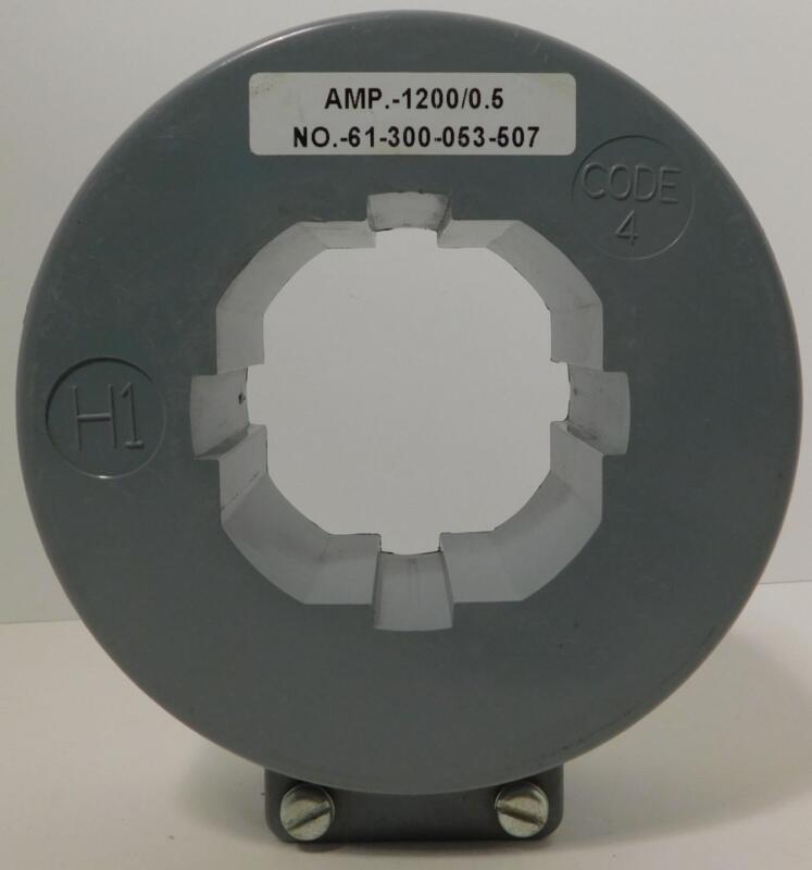 SIEMENS 61-300-053-507 AMP.-1200/0.5 Current Transformer NOS