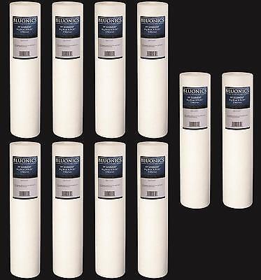 "Big Blue Sediment Replacement Water Filters Ten  4.5"" x 20"""