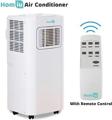 Air Conditioner 9000 BTU Homiu Timer 3Mode Portable Aircon Cooling Fast Fan...