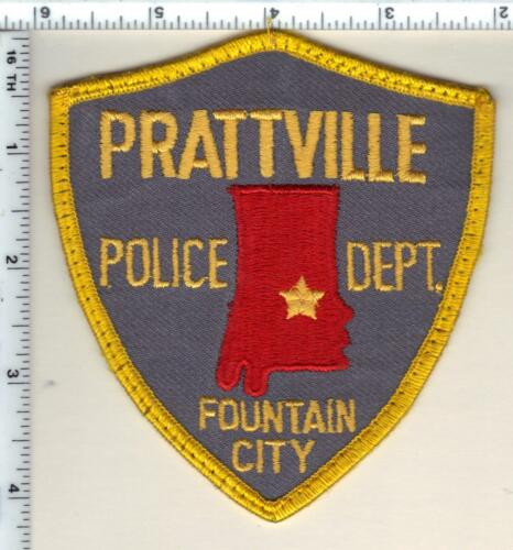 Prattville Police (Alabama) Shoulder Patch - uniform take-off from 1989