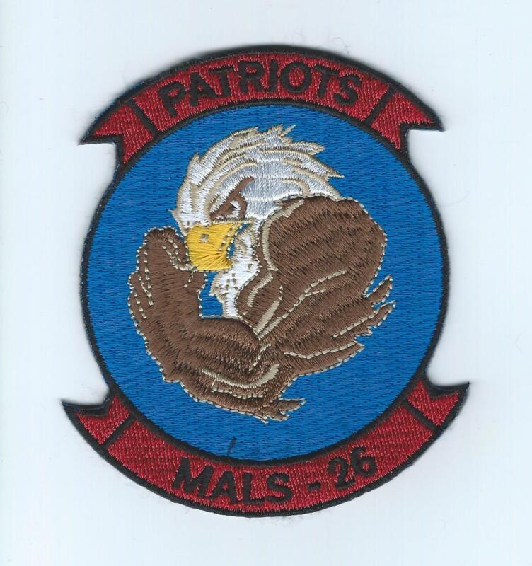 """MALS-26 """"PATRIOTS"""" patch"""