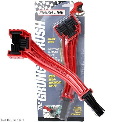 Finish Line Grunge Brush Chain And Gear Cleaning Bicycle Repair Tool