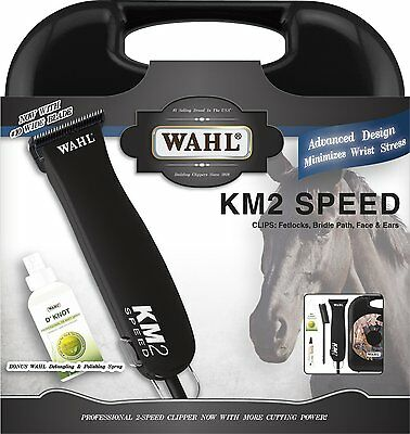 Wahl Professional Animal KM2 Equine Clipper Kit 9757-700