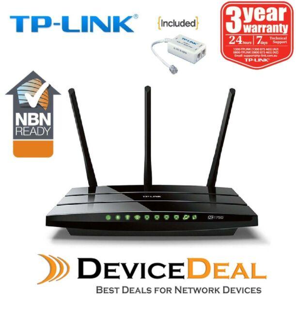 TP-LINK TD-W8980 Wireless N600 Dual Band Gigabit ADSL2+ Modem Router