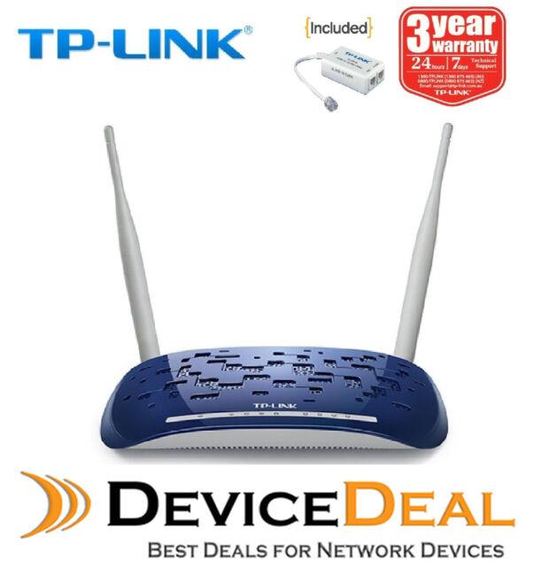 TP-LINK TD-W8960N Wireless N300 ADSL2+ Modem Router - NBN Ready