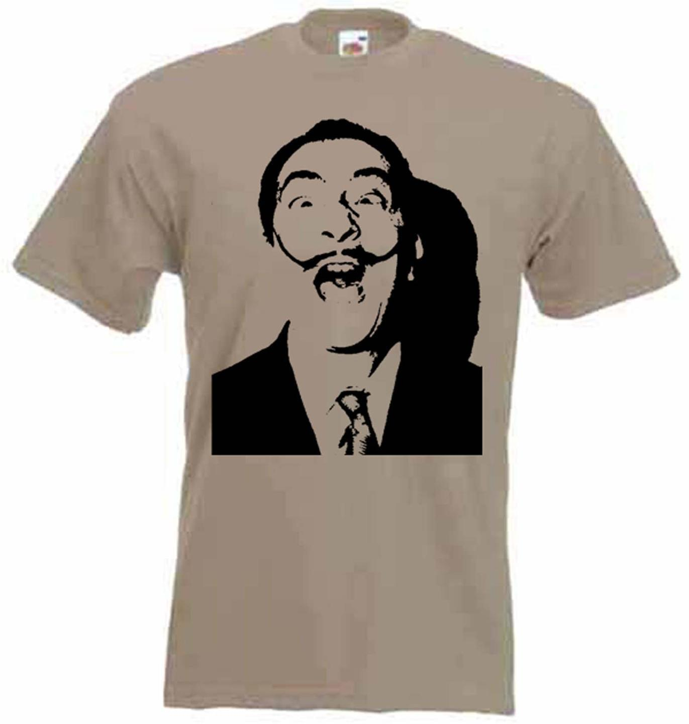Dali T Shirt Art Drugs Salvador Dali Surrealism Cocaine 420 etc