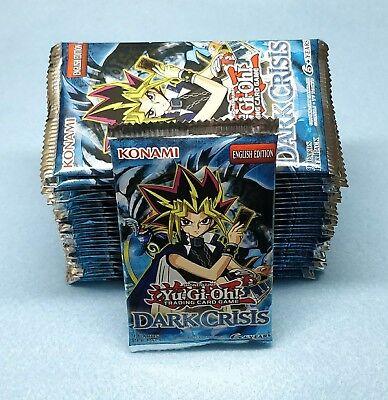 English Yugioh Dark Crisis 24 Booster Packs = Box Quantity Unsearched Dark Crisis Booster Box