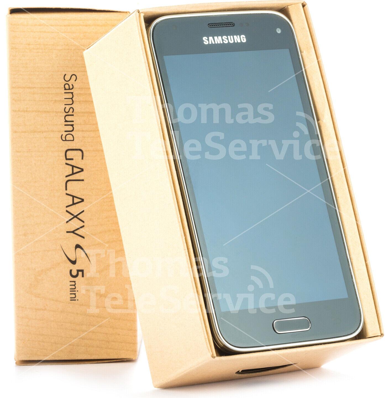 Samsung Galaxy S5 mini G800f Black Schwarz Smartphone Handy Android Neu OVP
