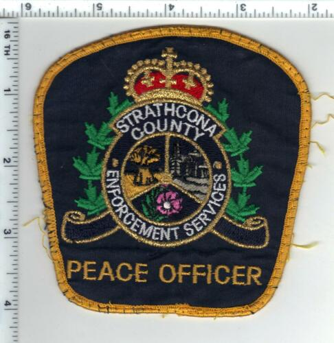 Strathcona County Peace Officer (Canada) Uniform Take-Off Shoulder Patch 2007-13