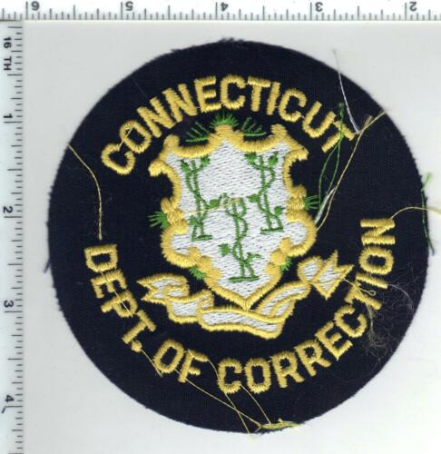 Connecticut Department  of Corrections Uniform Take Off Shoulder Patch 1980