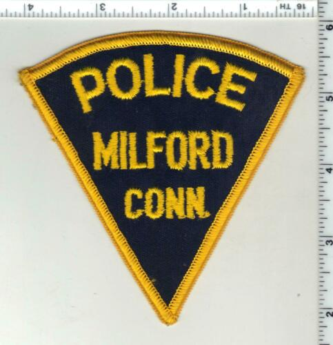 Milford Police (Connecticut) 3rd Issue Shoulder Patch