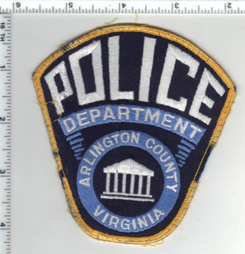 Arlington County Police (Virginia) Uniform Take-Off Shoulder Patch slight damage