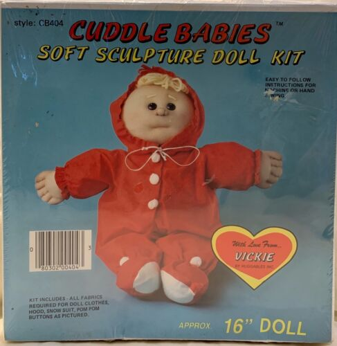 Huggables Cuddle Babies Soft Sculpture Doll Kit CB404 Vickie Brand NEW Sealed