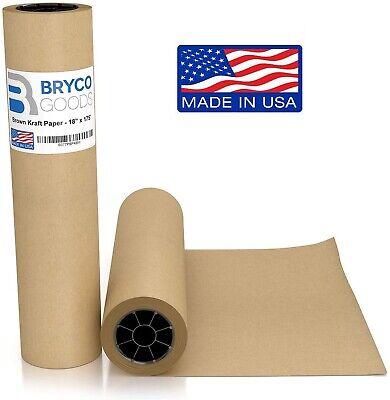 Bryco Goods Brown Jumbo Kraft Paper Roll - 18 X 2100 175