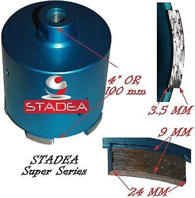 Stadea 3 Diamond Concrete Hole Saw - Granite Masonry Stone Wet Dry Drilling Bit