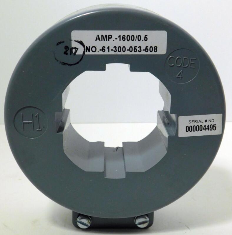SIEMENS 61-300-053-508 AMP.-1600/0.5 Current Transformer NOS NIB
