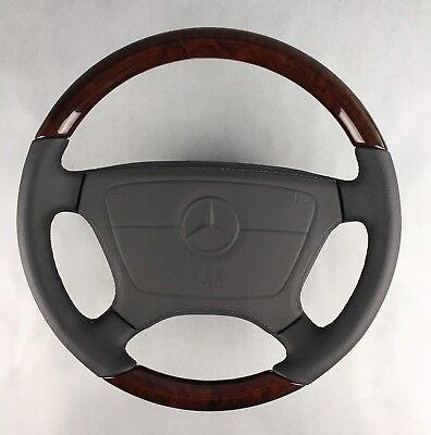 Mercedes Classic R129 W124 140 201 202 210 Holz Lenkrad wood steering wheel bois segunda mano  Embacar hacia Spain