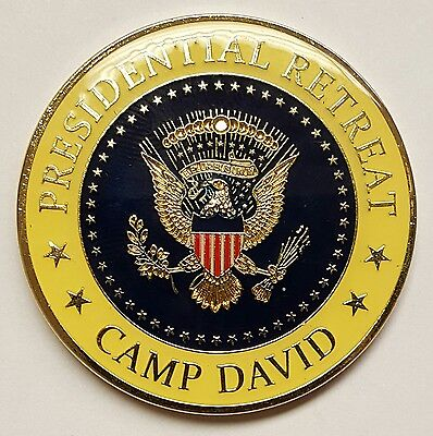 Authentic Potus Presidential Retreat Camp David Maryland Fire Dept  51 Mint Cond
