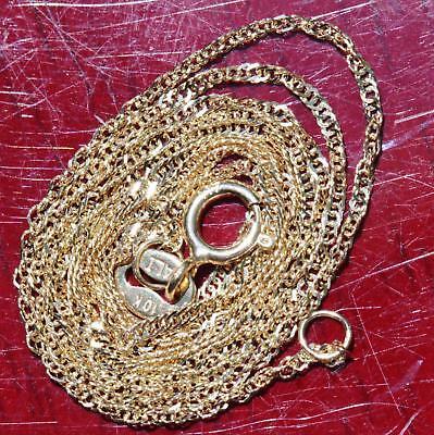 (Alishaev 10k yellow gold necklace  16.0