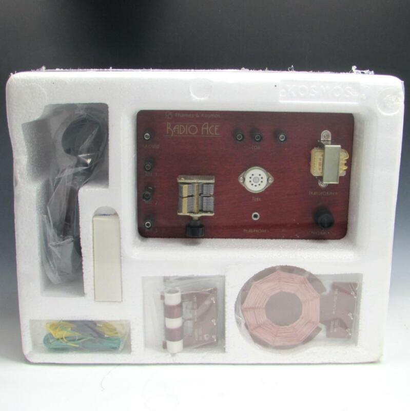 Thames & Kosmos Radio Ace AM/ SW TUBE RADIO Receiver Experiment Kit UNUSED