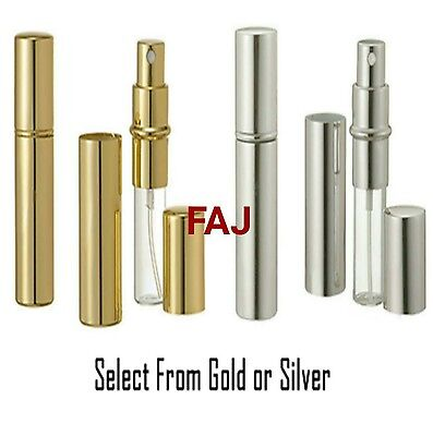 10ml Empty Atomizer Refillable Perfume Travel Size Glass & A