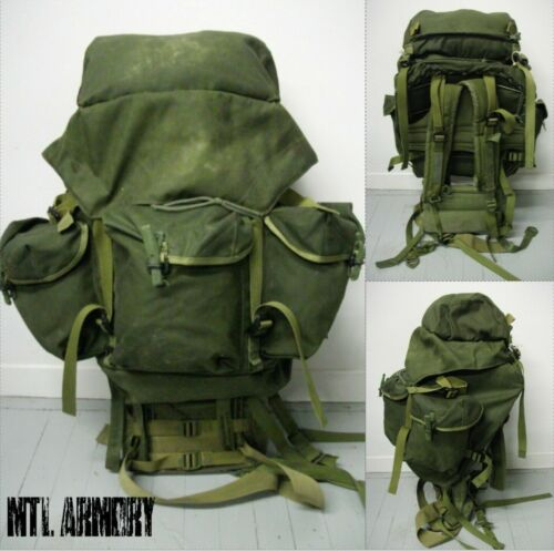 CANADIAN FORCES 82 PATTERN OD  RUCKSACK  CANADA ARMY )