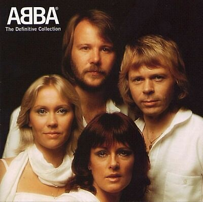The Definitive Collection - Abba 2 CD Set, 37 Tracks, SEALED NEW!