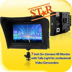 HD-HDMI-7-Inch-On-Camera-Video-Cam-Field-DSLR-LCD-Monitor-w-Sony-V-Mount-Plate