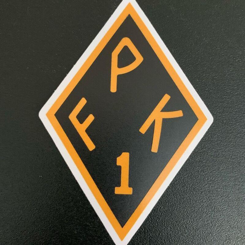 """Los Angeles County Sheriff Dept """"FPK"""" Outdoor/Indoor Vinyl Decal/Sticker"""