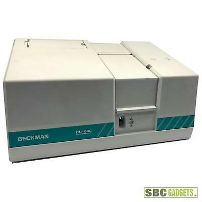 Beckman Du640 Du 600 Series Spectrophotometer Model Du-640