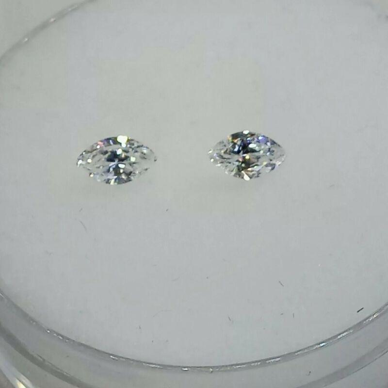 Fabulite strontium titanate Clear Antique/Vintage gemstone.new antiq stock fb102