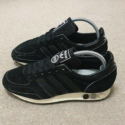 Adidas LA Trainer Black Suede Size 5
