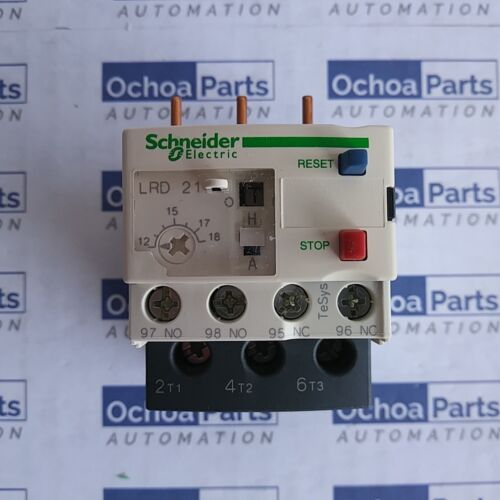 LRD21 SCHNEIDER ELECTRIC TESYS LRD THERMAL OVERLOAD RELAY 12-18A CLASS 10A
